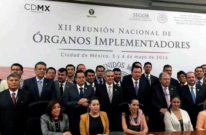 Reunión Organos Implementadores NSJP