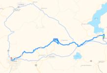 Carretera-Pátzcuaro-Uruapan