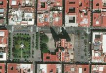 Centro-Histórico-Morelia satelite