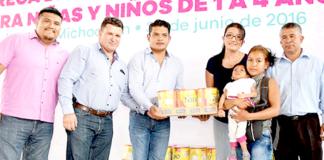 DIF-Michoacán-Dotación-Leche