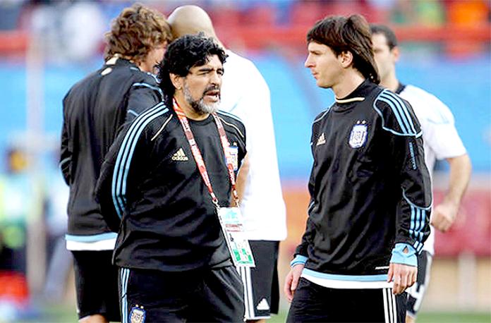 Maradona-Messi