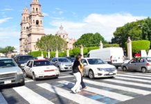 Peatones-Morelia