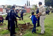 Reforestación-Policías