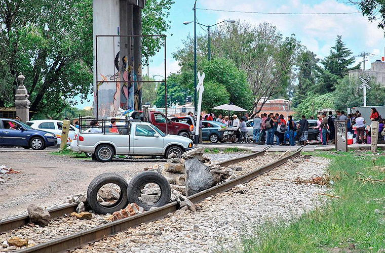 Bloqueo-Tren
