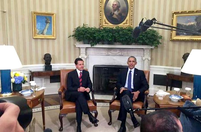 Enrique-Peña-Barack-Obama