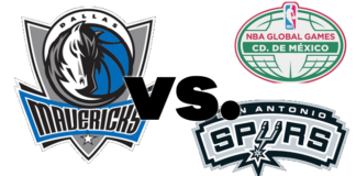 Mavericks-Spurs-NBA-México