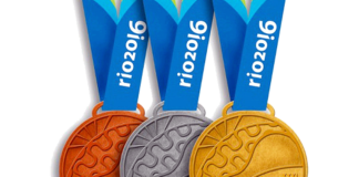 Medallas-Olímpicas Brasil 2016