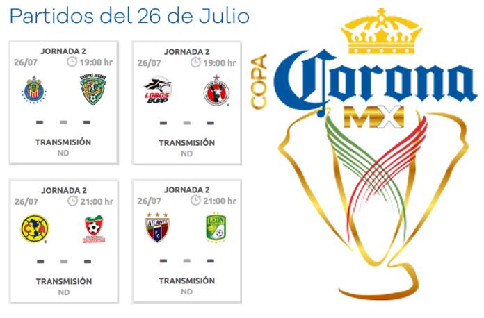 Partidos-Copa-MX-26-de-julio