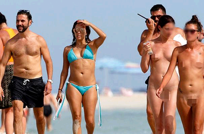 Pepe-Bastón-Eva-Longoria-Playa-Nudista