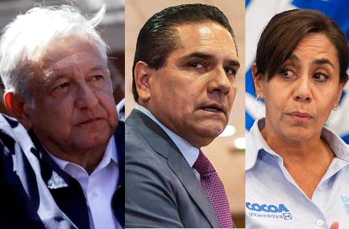 AMLO, Silvano Aureoles, Cocoa Calderón